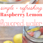 Flavored Water - Raspberry Lemon