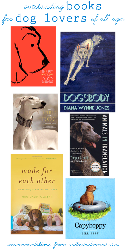 The Perfect Last Minute Gift: </br> Books for Dog Lovers, of All Ages