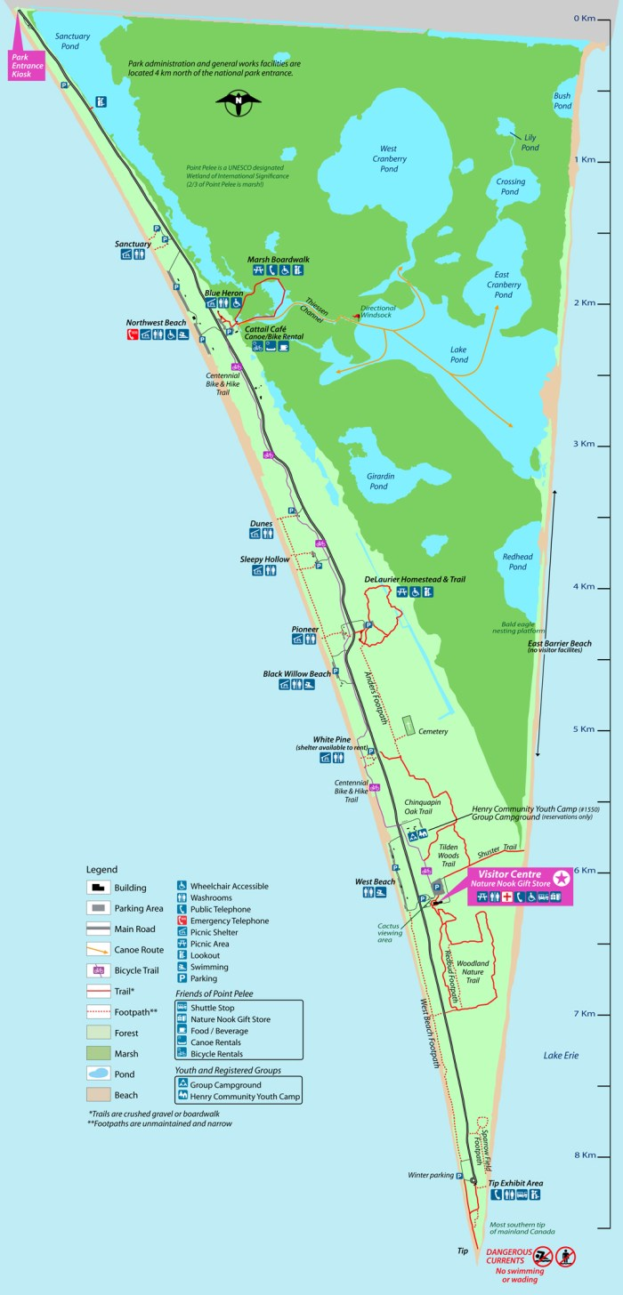 pointpelee-map