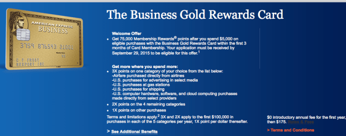 amex gold rewards