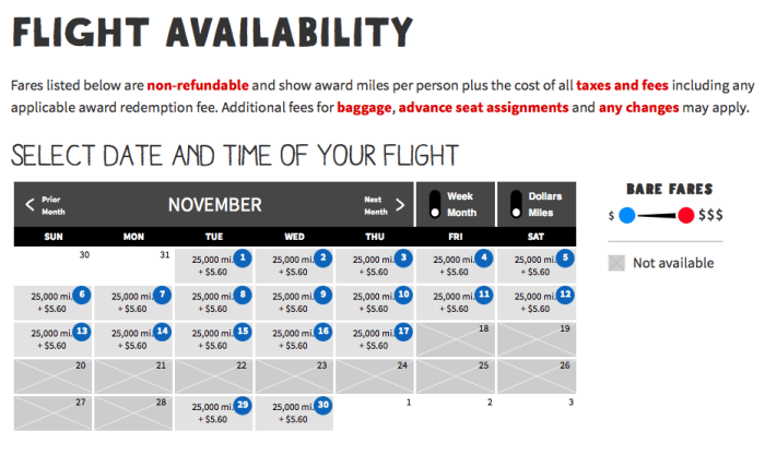 spirit availability fort laud-phl