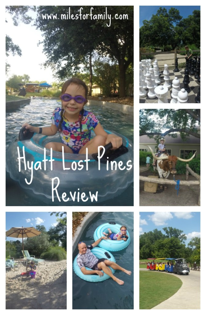 Hyatt Regency Lost Pines Resort Review www.milesforfamily.com
