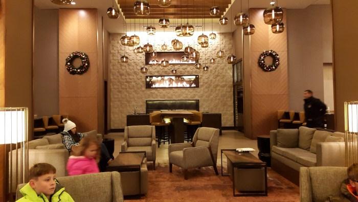 Lobby of Grand Hyatt Denver