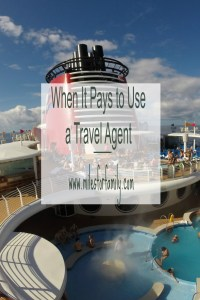 When It Pays to Use a Travel Agent