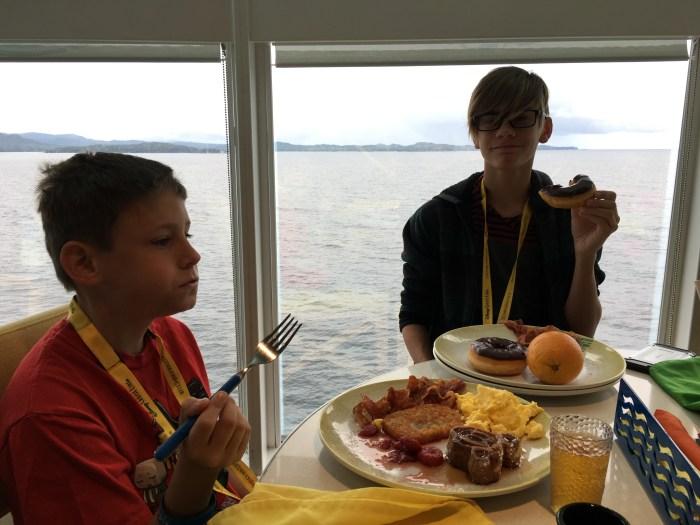 Texans in Alaska: Sea Day to Alaska!