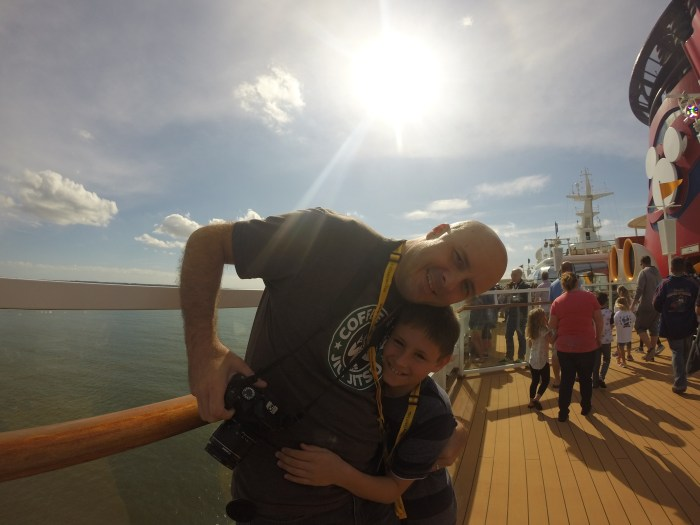 Texans in Alaska: Boarding the Disney Wonder to Alaska