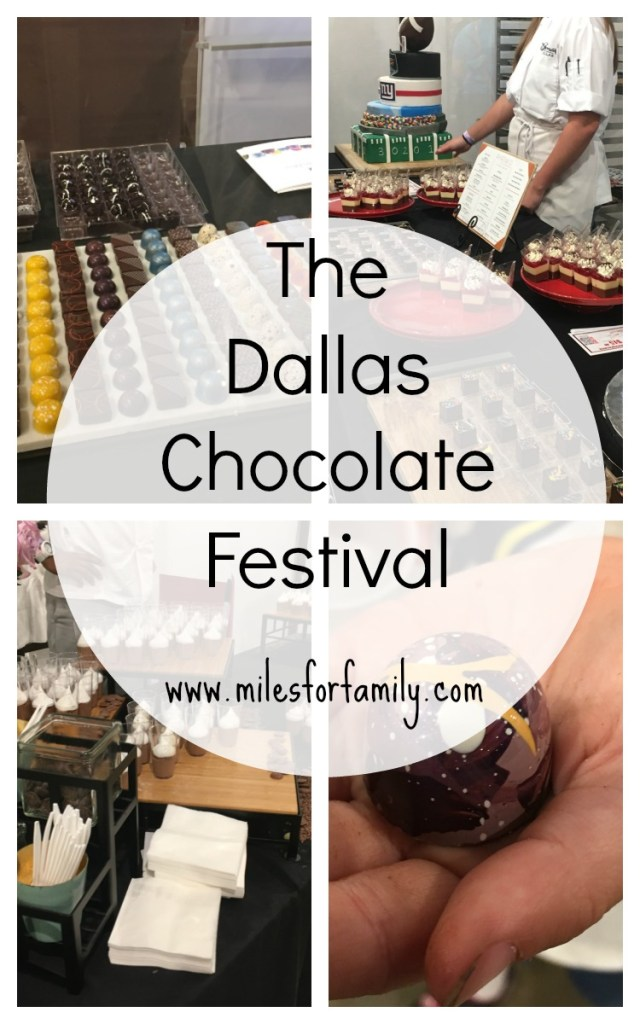 Leaving my Suburban Bubble for the Dallas Chocolate Festival