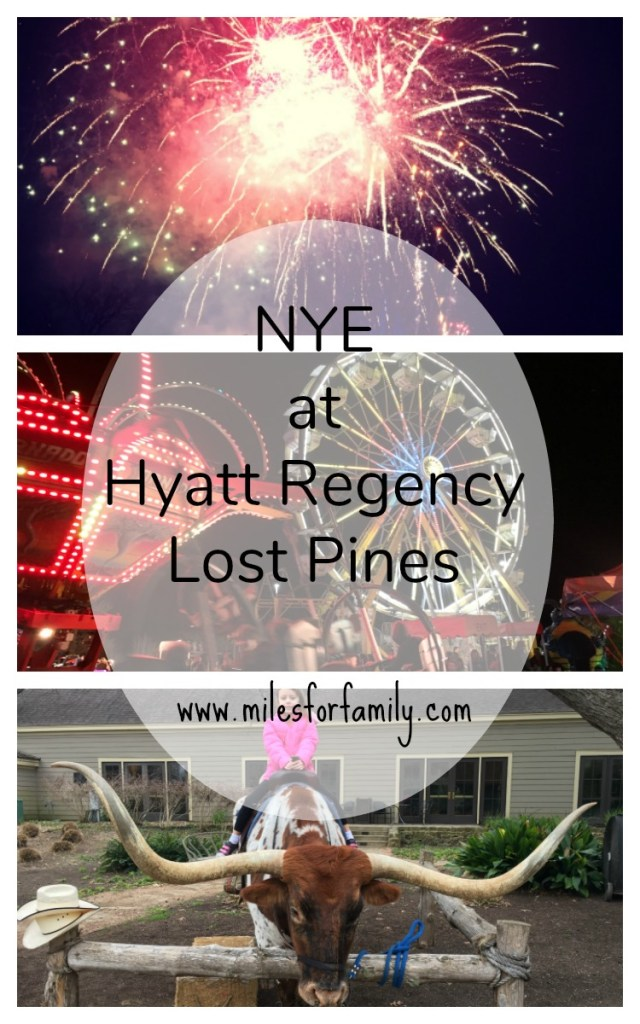 New Year's Eve at Hyatt Regency Lost Pines Resort and Spa