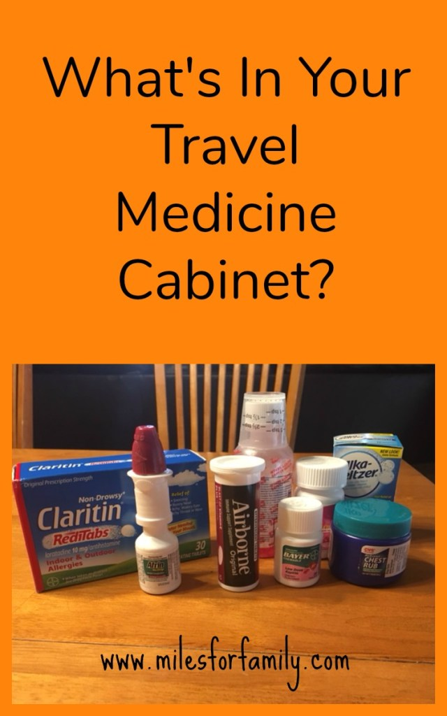 What's In Your Travel Medicine Cabinet?