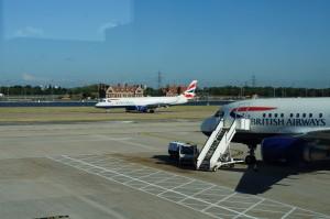BA at LCY Airport