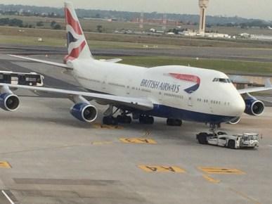 British Airways B747-400