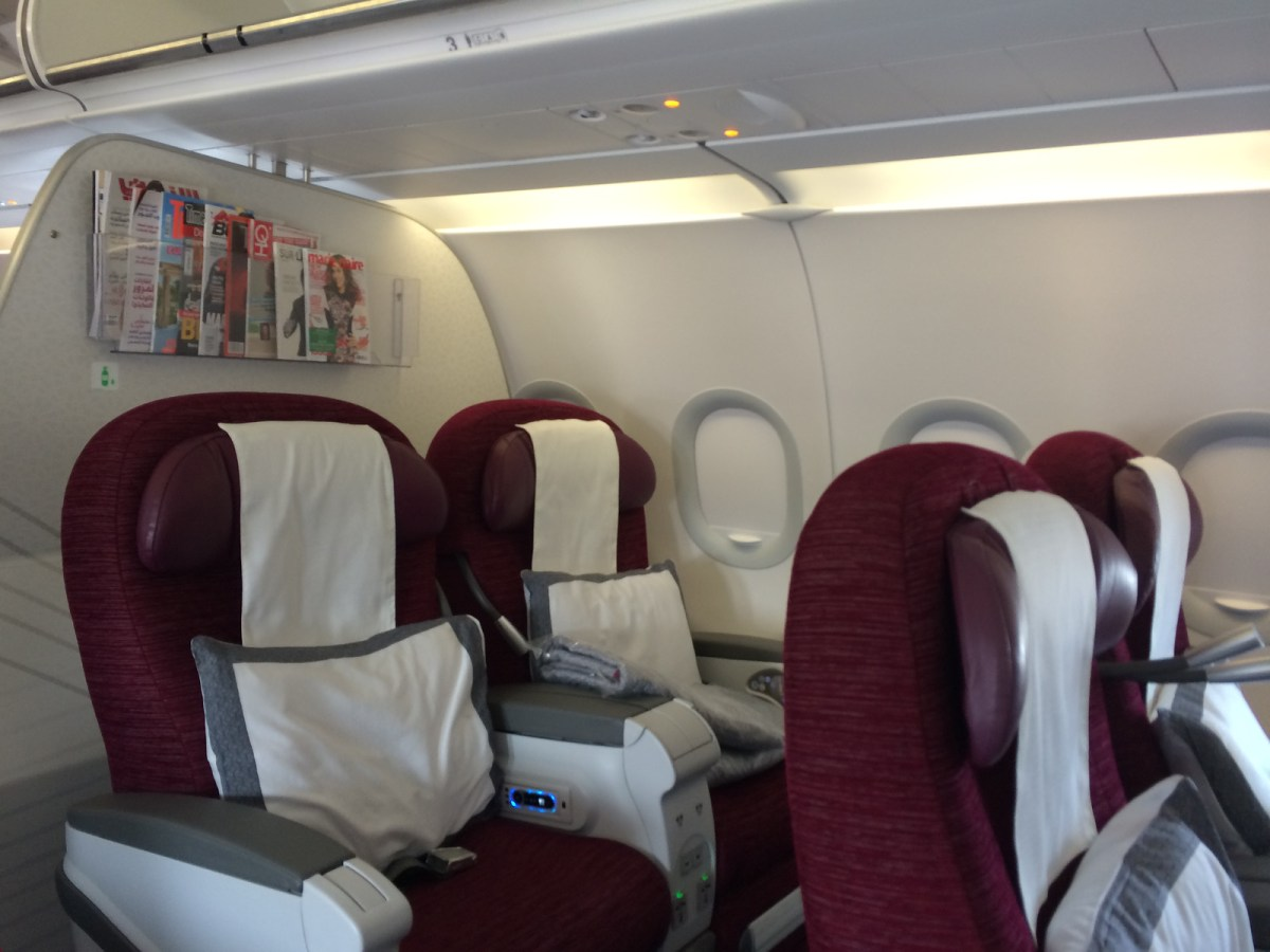 'Sir you are the only business class passenger today...' Qatar Airways Doha to Sri Lanka