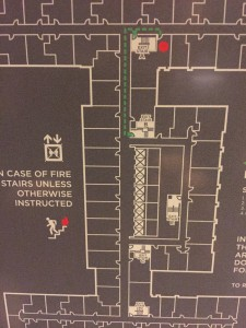 Grand Hyatt New York - Grand Club floor plan