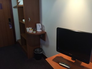 Premier Inn - TV and Kettle