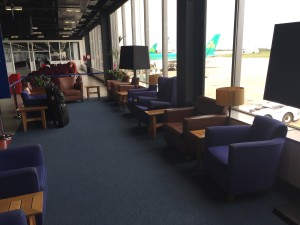 BA waiting area at Shannon