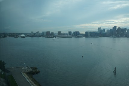 Hyatt Boston Harbour views
