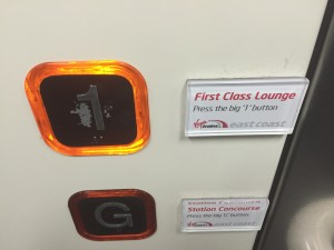 Virgin East Coast First Class Lounge