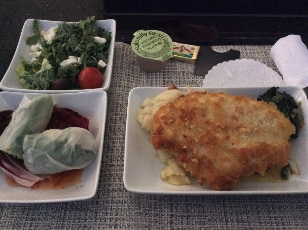 AA PHX-HNL First Class Meal