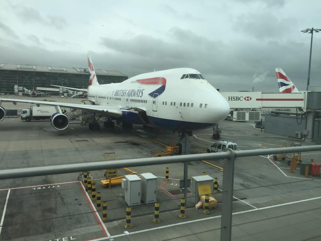 BA 747-400