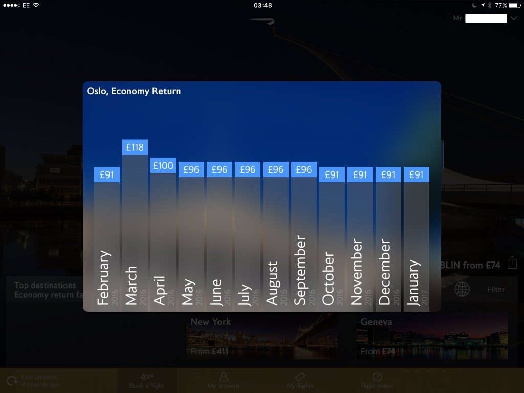 Ipad app cheapest flight search