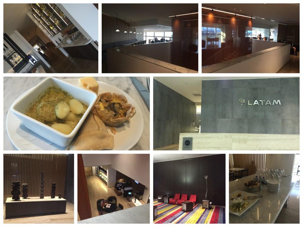 LATAM Lounge SCL