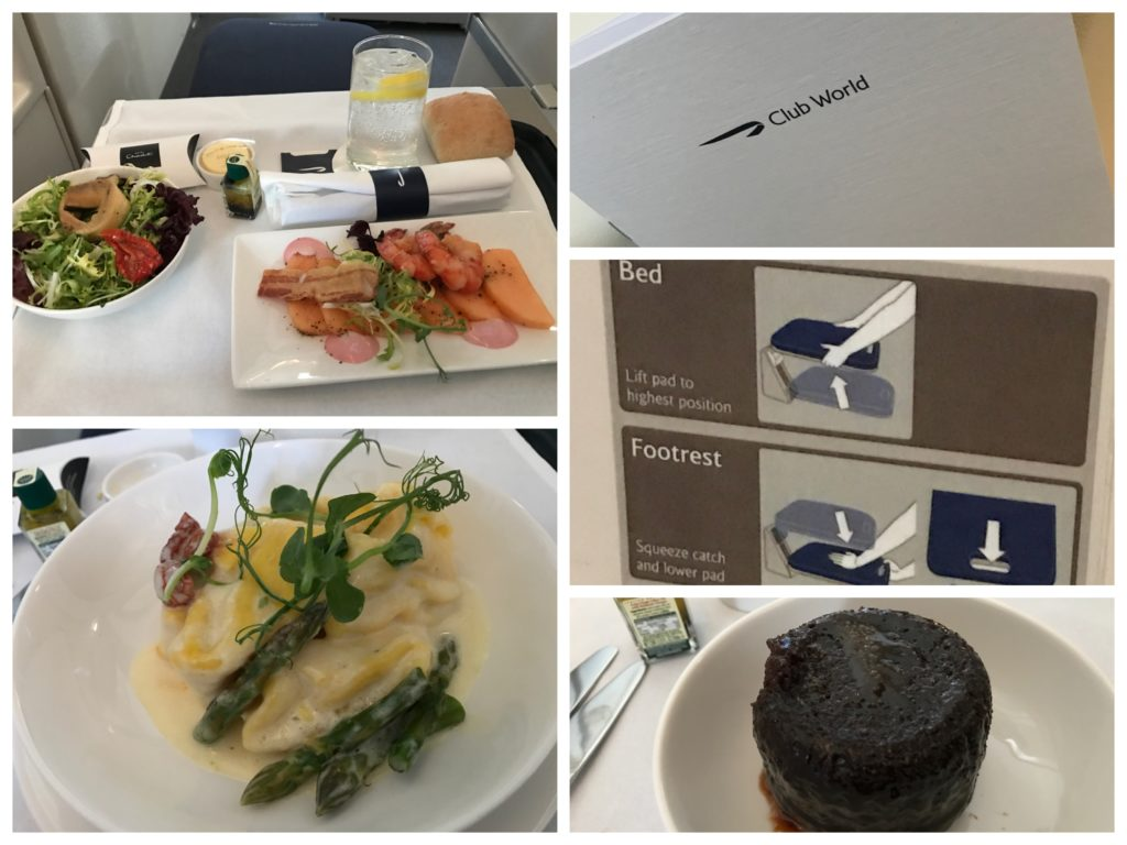 BA Club Europe to JFK