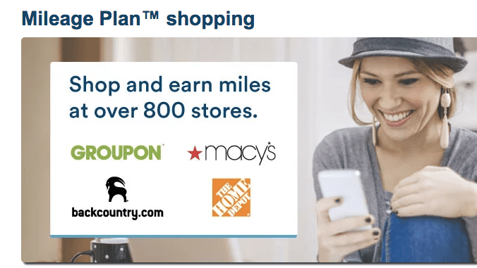 Portal shopping will help you multiply your frequent flyer miles.