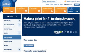 Earn triple miles for shopping on Amazon.