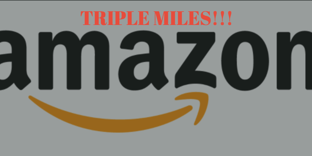 Get Triple Miles For Every Dollar You Spend On Amazon