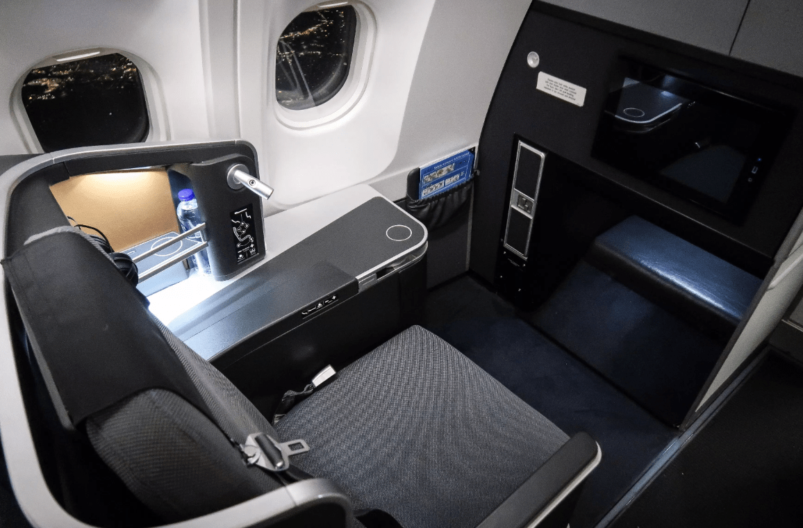 Fly In Flat-bed Seats to Europe over Labor Day Using Low Number of United Miles