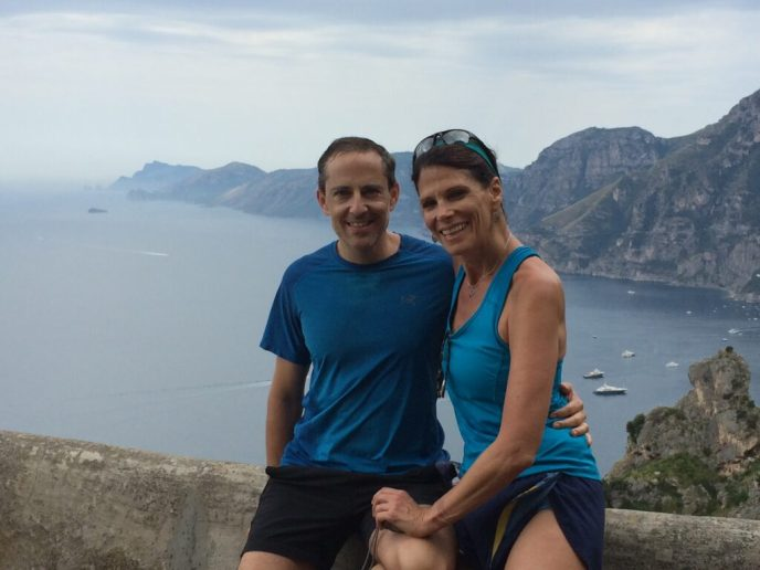 """Hiking the """"Path of The Gods"""" along the Amalfi Coast. A trip made even more magnificent by flying Turkish Airlines Business Class home through Istanbul."""