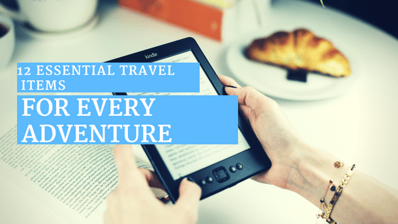 Amazon Kindle Essential Travel Items