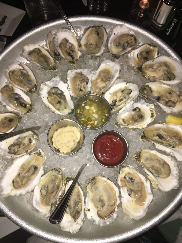 Kennebunkport Maine Oysters