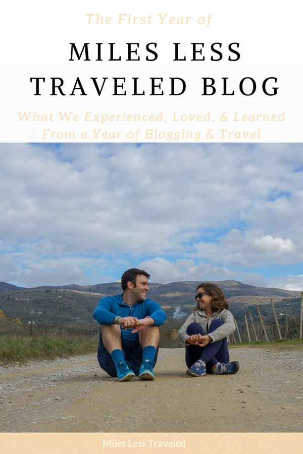 The First Year of Blogging Miles Less Traveled Blog