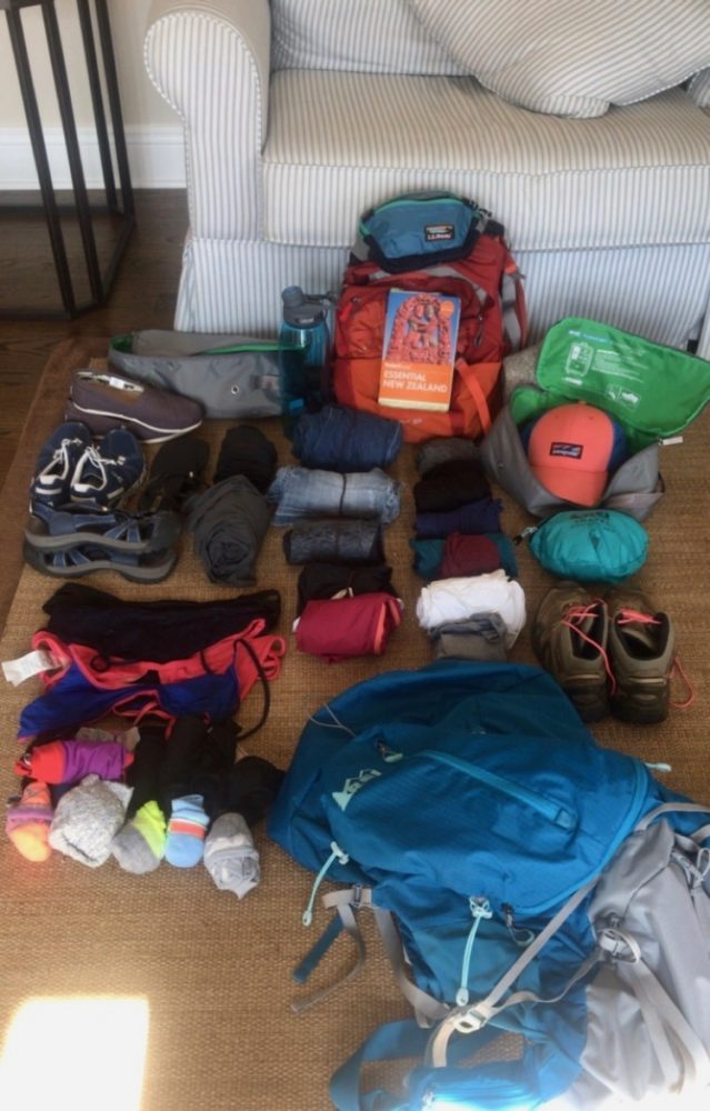Alicia Pack Long Term Travel Packing List