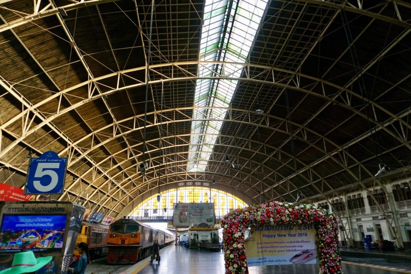 What is Bangkok Like? A train station that gets you to where you need to go!
