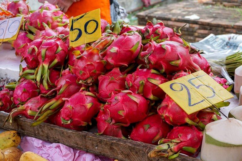 Dragon Fruit Chiang Mai Market