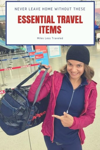 Don't Leave Home Without These Essential Travel Items