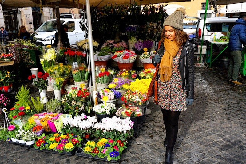 Flowers at Campo De Fiori