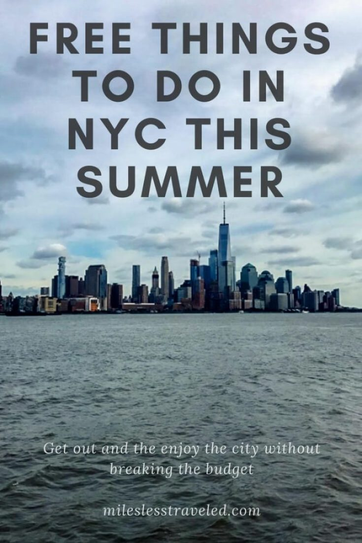 Free Things to in NYC in Summer