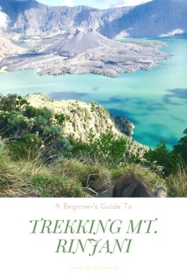 View of crate rim A beginner's guide to trekking mt. rinjani