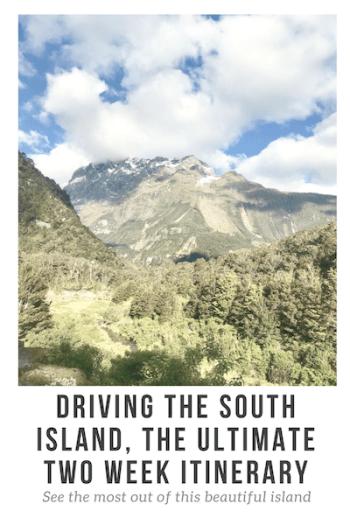South Island Road Trip Pinterest Image