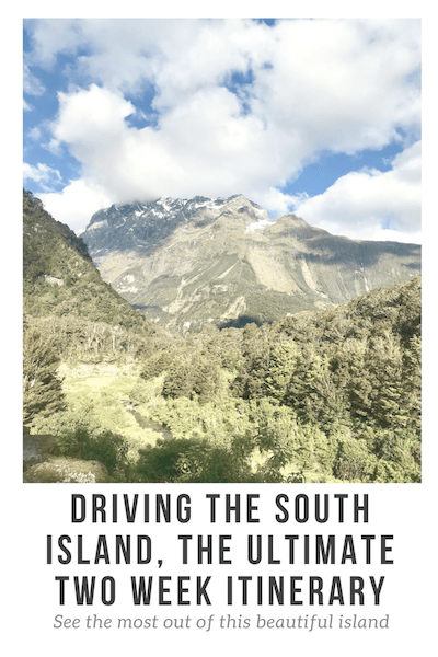 South Island Road Trip Pinterest Image