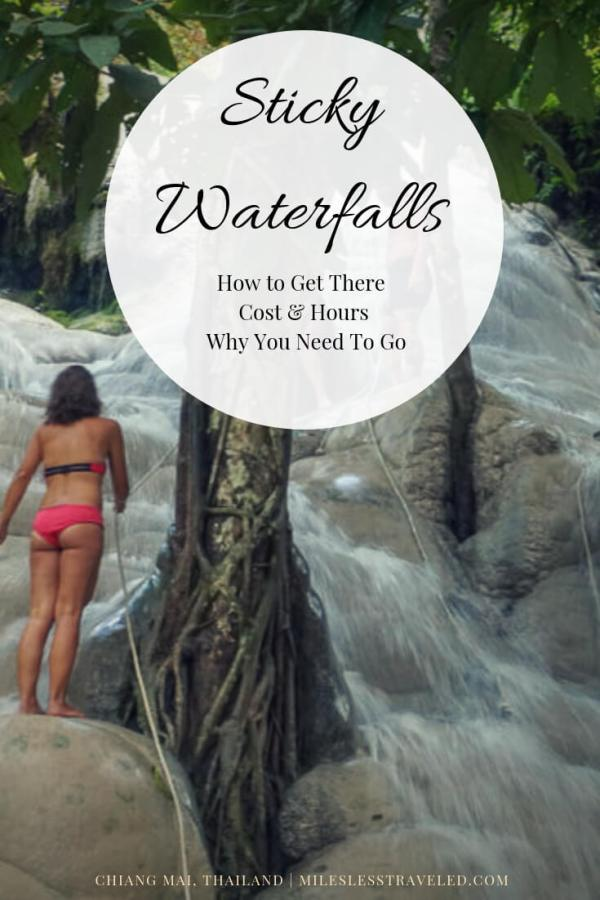 Sticky Waterfalls How to Get There Cost & Hours Why You Need to Go Chiang Mai, Thailand