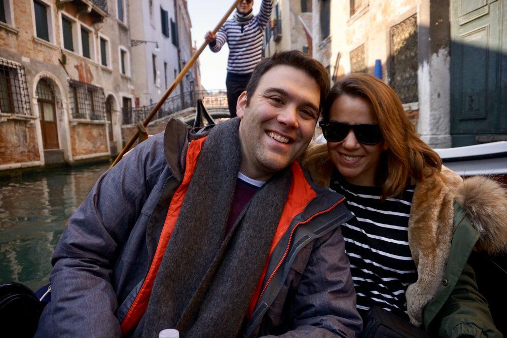 Venice in Winter Gondola