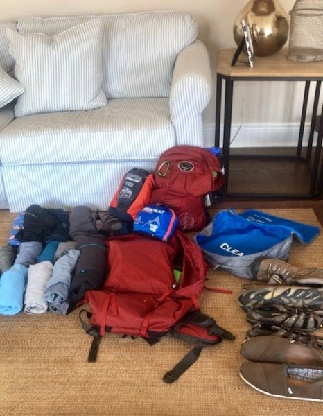 Joe's Pack Long Term Travel Packing List