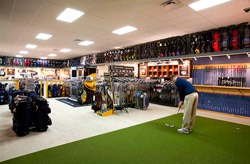 Golf Shop   Miles of Golf golf shop with putting green