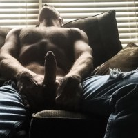 I answered this guys ad that wanted an anonymous blowjob.  I dropped my shirt over his face and worshipped his fuck stick and body instantly. I was invited back tomorrow.