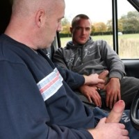 Our driver Ivan, insists on interviewing and hiring his own assistants. Looks like Evan is hired!
