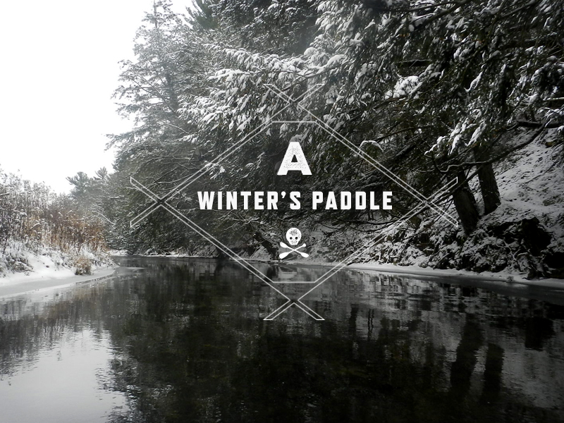 A Winters Paddle